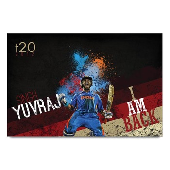 Yuvraj Singh India Poster