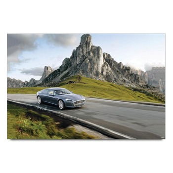 Aston Martin Luxury Car Drive Poster