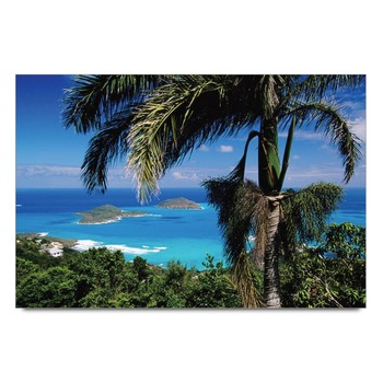 Seaside Landscape Poster