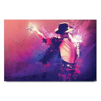 Michael Jackson Style Poster
