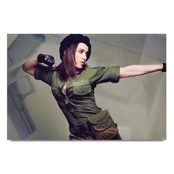 Boxing Girl Poster