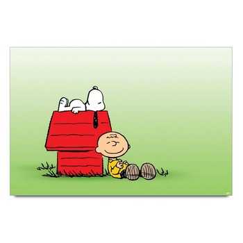 Charlie Brown And Snoopy Poster