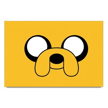 Jake Adventure Time Poster