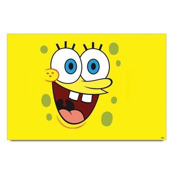 Smiley Sponge Bob Poster