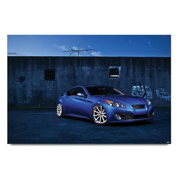 Hyundai Genesis Poster