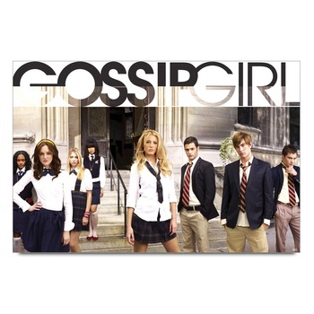 Gossip Girl Cast Tv Series Poster