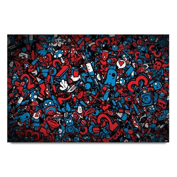 Graphic Art Abstract Poster