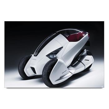 Honda Three Wheel Electric Car Poster
