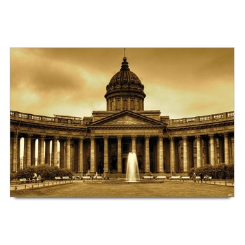 Kazan Cathedral Monument Poster