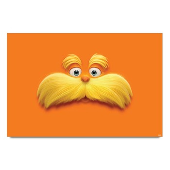 Smiley Bob Moustache Poster