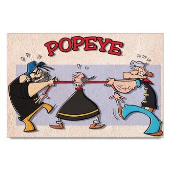 Popeye Cartoon   Poster