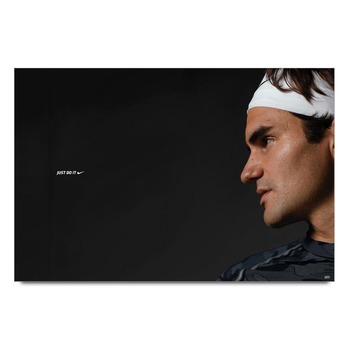 Just Do It Federer   Poster