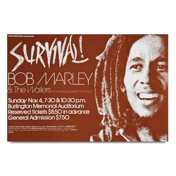 Bob Marley Survival   Poster