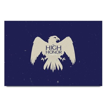 As High As Honor Game Of Thrones   Poster