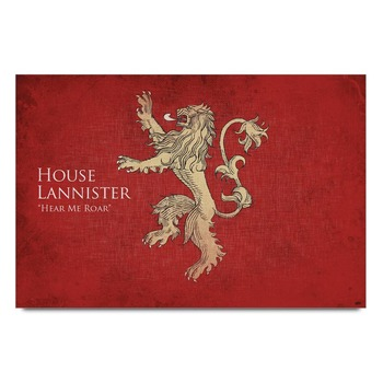 House Lunnister Game Og Thrones   Poster