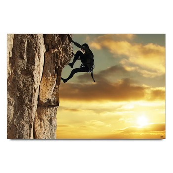 127 Hours Climbing   Poster