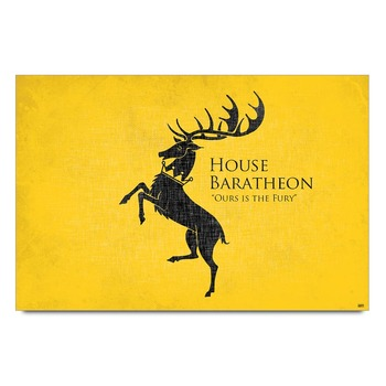 House Baratheon Game Of Thrones   Poster