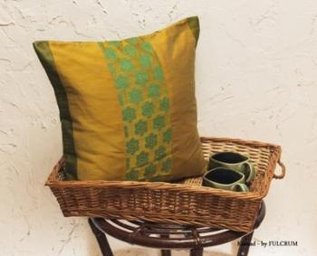 Cushion covers - Mustard patch