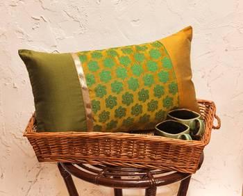Cushion covers - Green long