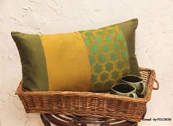 Cushion covers - Mustard long