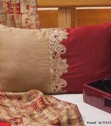 Buy Cushion covers - Maroon long  pillow-cover online