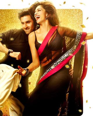 Deepika padukone yeh jawani hai diwani net replica bollywood saree abai