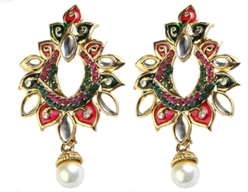 Dealtz Fashion Vibrant Design Festive Earrings