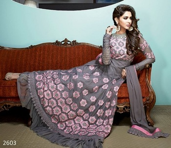 Awesome Designer Party Wear Aanrkali Suit