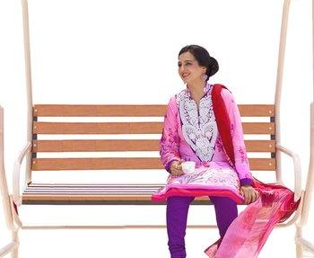 Hypnotex Pink Cotton Dress Materials