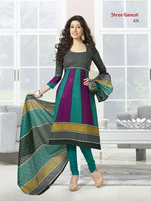 100 % Cotton Dress Material