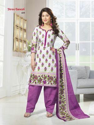 100 % Cotton Dress Material