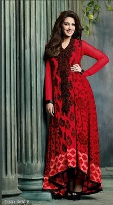 Sonali Bendre Designer Party Wear Suit