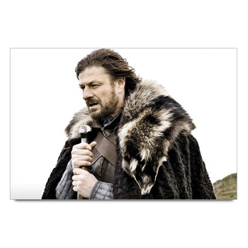 Game Of Thrones Ned Stark   Poster