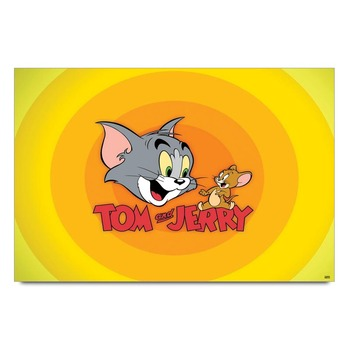 Happy Tom And Jerry   Poster