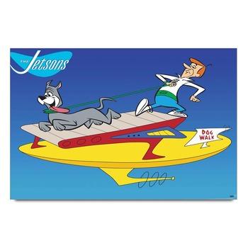 The Jatson Cartoon   Poster