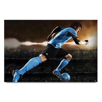 Messi In Action 2   Poster