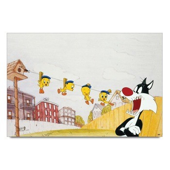 Tweety And Silvester   Poster