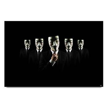 Anonymouse V For Vendetta Poster