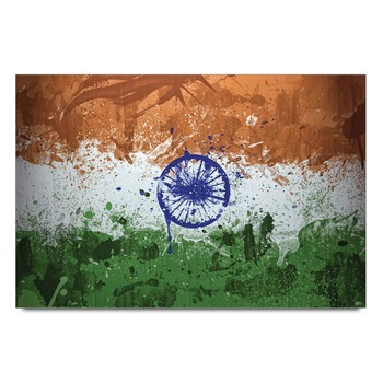 India Flag Graphic Art Poster