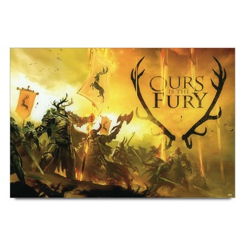 Game Of Thrones Ours Is The Fury Poster