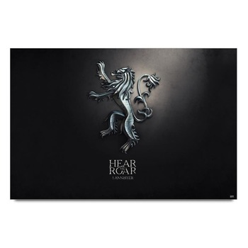Game Of Thrones House Lannister Poster