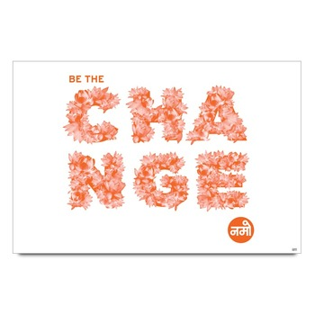Namo Be The Change Poster