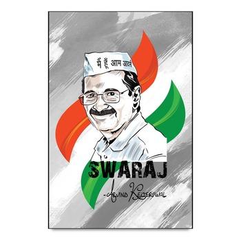 Arvind Kejriwal Swaraj Aap Poster