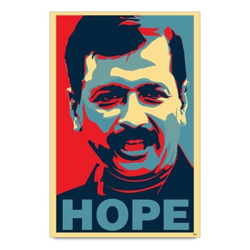 Aap Arvind Kejriwal Hope  Poster
