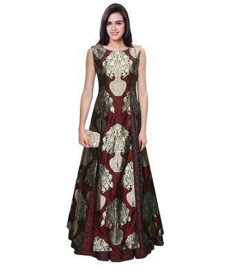 gown by kmozi (Maroon)