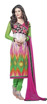 Triveni Pleasing Abstract Patterned Salwar Kameez TSAYSPVSK14002b