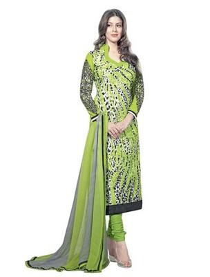 Triveni Trendy Abstract Pattern Cotton SalwarKameez TSAYSPVSK14003a