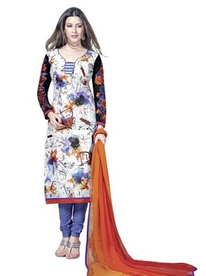 Triveni Stylish Colorful Abstract Print Salwar Suit TSAYSPVSK14009a