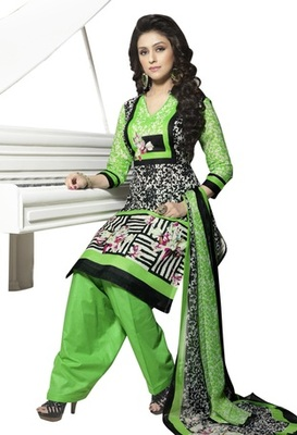 Triveni Glorious Floral Printed Cotton Salwar Kameez TSXBZSK7344B