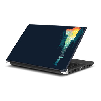 Abstract Painting Laptop Skin